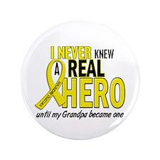 """Real Hero Sarcoma 3.5"""" Button"""
