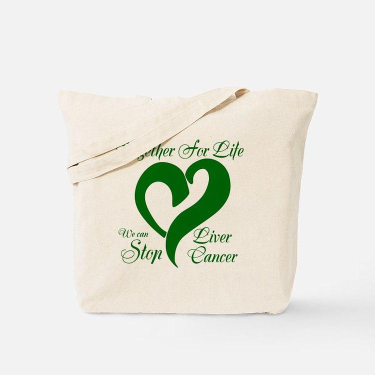 Stop Liver Cancer Tote Bag