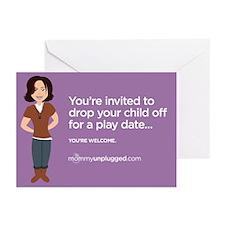 Playdate Drop-off Greeting Cards (Pk of 10)