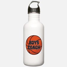 Boys Basketball Coach Gift Water Bottle