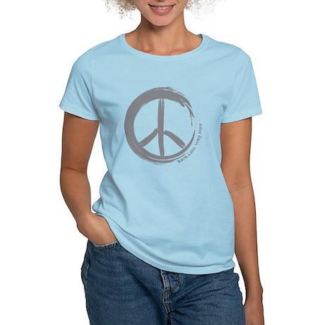 Peace Wag More Bark Less Women's Light T-Shirt