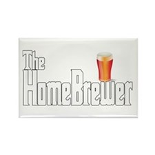 The HomeBrewer Ale Rectangle Magnet