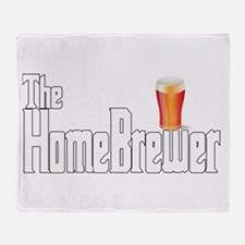The HomeBrewer Ale Throw Blanket
