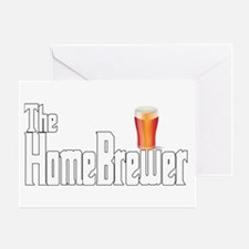 The HomeBrewer Ale Greeting Card