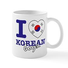 I love Korean boys Mug