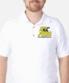 Real Hero Sarcoma Golf Shirt