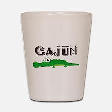 Cajun Gator Shot Glass