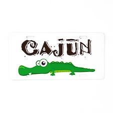 Cajun Gator Aluminum License Plate