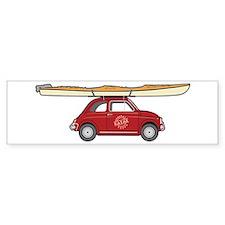 Coastal Kayak Bumper Sticker
