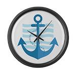 The Sailor Large Wall Clock