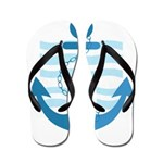 The Sailor Flip Flops