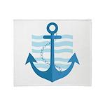 The Sailor Throw Blanket