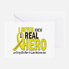 Real Hero Sarcoma Greeting Card