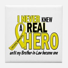 Real Hero Sarcoma Tile Coaster