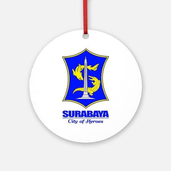 """""""Surabaya"""" Ornament (Round)"""