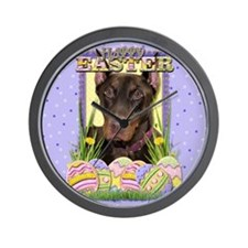 Easter Egg Cookies - Dobie Wall Clock