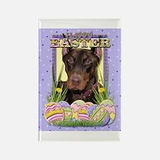 Easter Egg Cookies - Dobie Rectangle Magnet