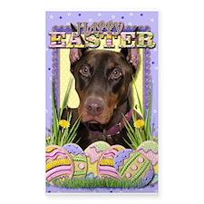 Easter Egg Cookies - Dobie Decal