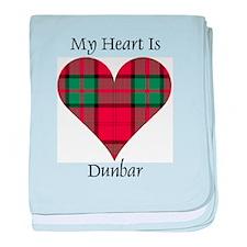 Heart - Dunbar baby blanket
