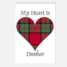 Heart - Dunbar Postcards (Package of 8)