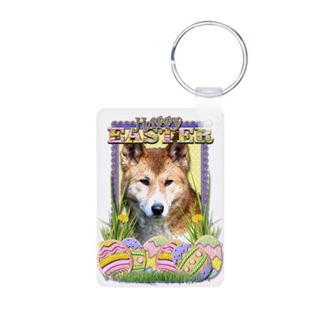 Easter Egg Cookies - Dingo Aluminum Photo Keychain