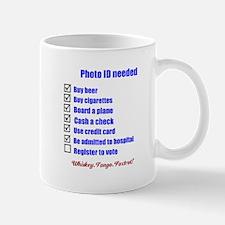 Photo ID needed Mug