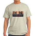 Dachshund Security Service Light T-Shirt