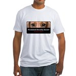 Dachshund Security Service Fitted T-Shirt