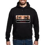 Dachshund Security Service Hoodie (dark)