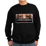 Dachshund Security Service Sweatshirt (dark)