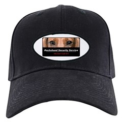 Dachshund Security Service Baseball Hat