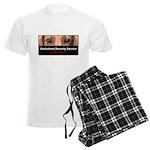Dachshund Security Service Men's Light Pajamas