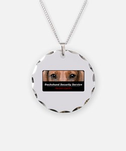 Dachshund Security Service Necklace