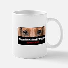 Dachshund Security Service Mug