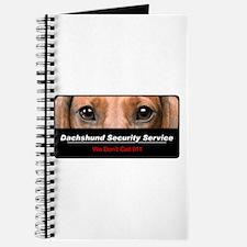 Dachshund Security Service Journal