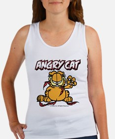 ANGRY CAT Women's Tank Top