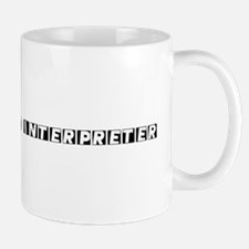 Sign Language Interpreter Mug