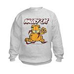 ANGRY CAT Kids Sweatshirt