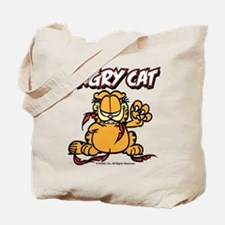 ANGRY CAT Tote Bag