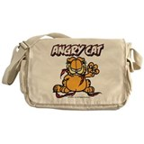 Garfield 2c angry cat Messenger Bag