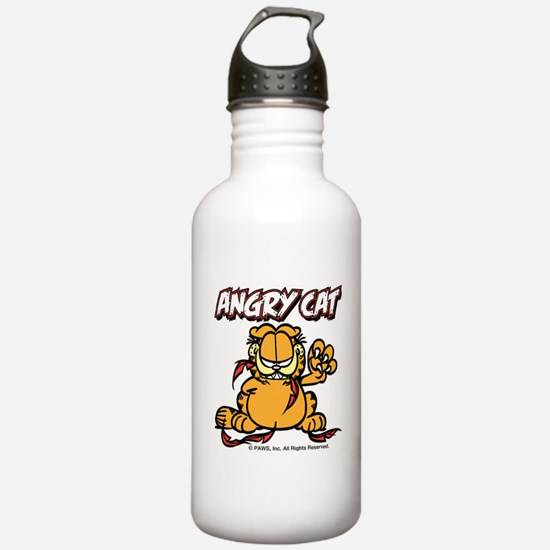 ANGRY CAT Water Bottle