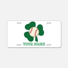 Personalized Irish Baseball Gift Aluminum License