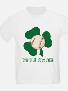 Personalized Irish Baseball Gift T-Shirt
