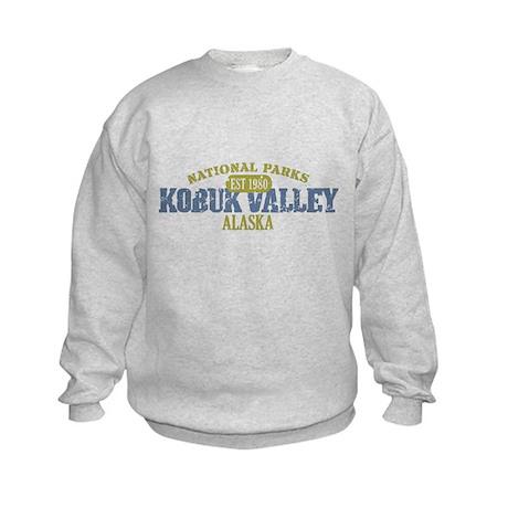 Kobuk Valley National Park AK Kids Sweatshirt