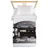 Police officer Luxe Twin Duvet Cover