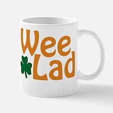 Wee Lad Shamrock Mug
