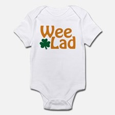 Wee Lad Shamrock Infant Bodysuit