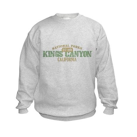 Kings Canyon National Park CA Kids Sweatshirt