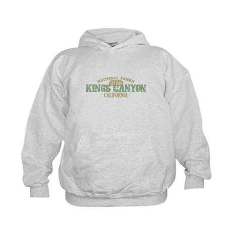 Kings Canyon National Park CA Kids Hoodie