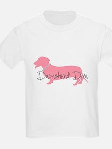 Diamonds Dachshund Diva T-Shirt